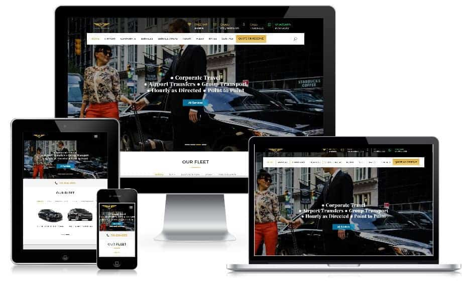 Web Design Services for Limo Companies